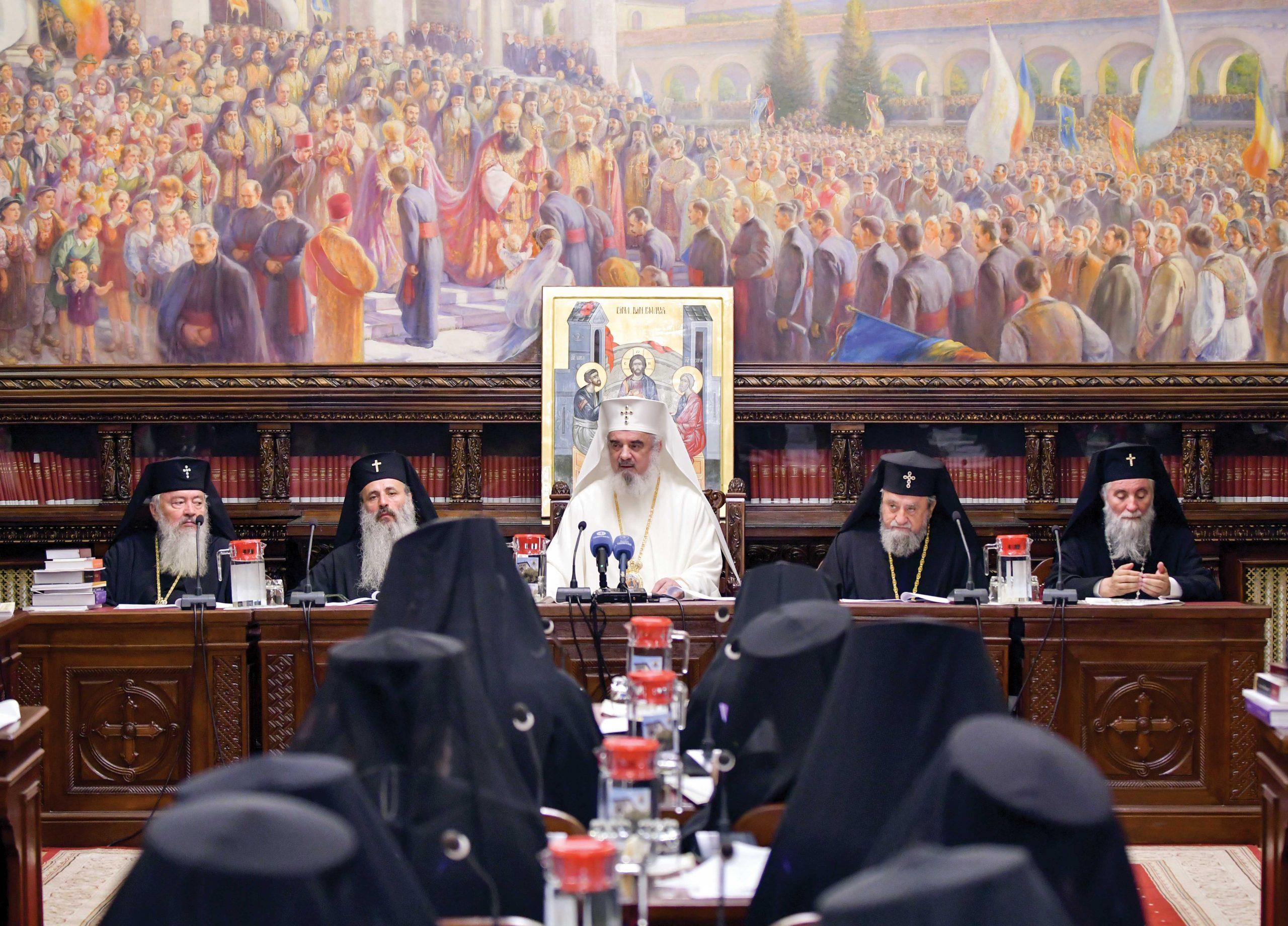 Sfântul Sinod s-a întrunit în şedinţă de lucru