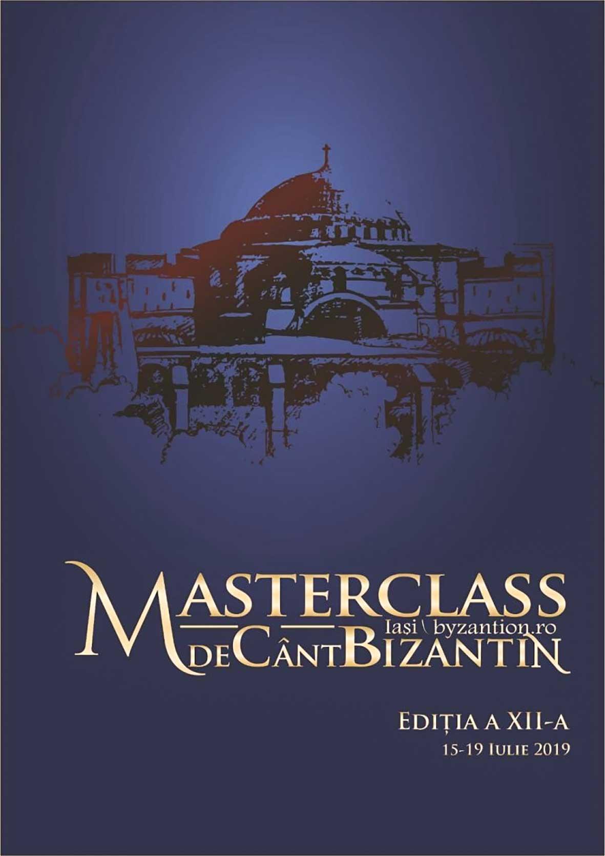Masterclass-ul de cânt bizantin la Iaşi – ediţia 2019