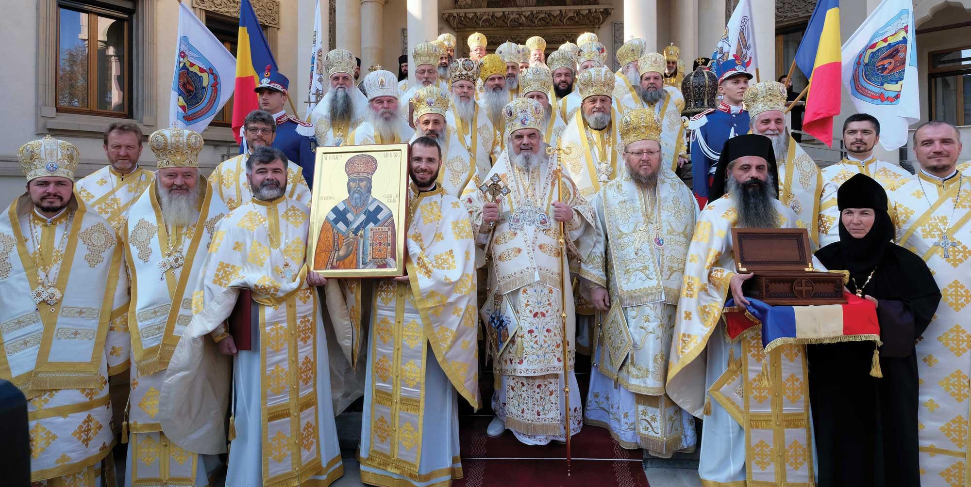 Proclamarea canonizării Sfântului Ierarh Dionisie Erhan – Tomos Sinodal