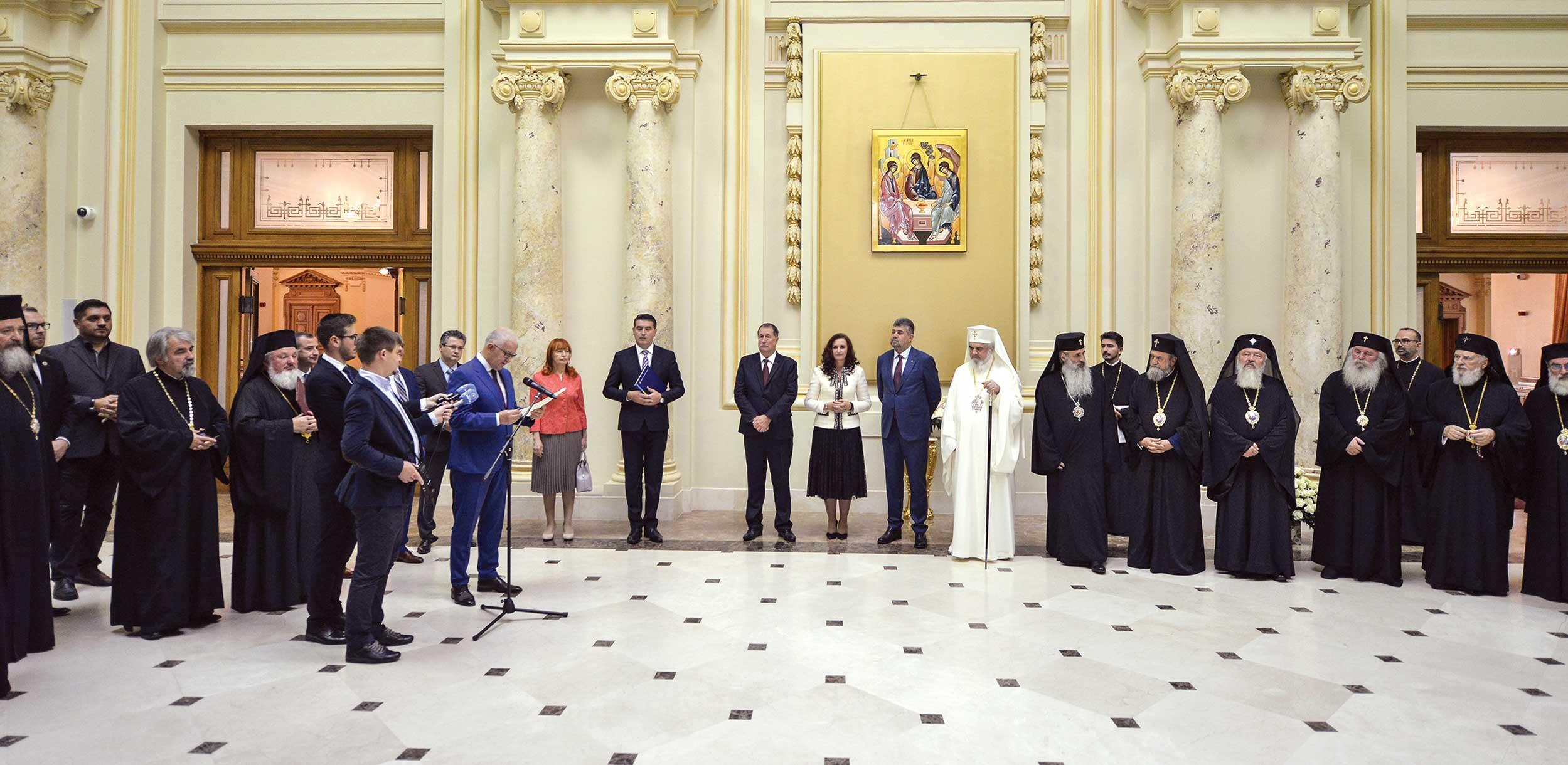 Mesaje de felicitare adresate Patriarhului României