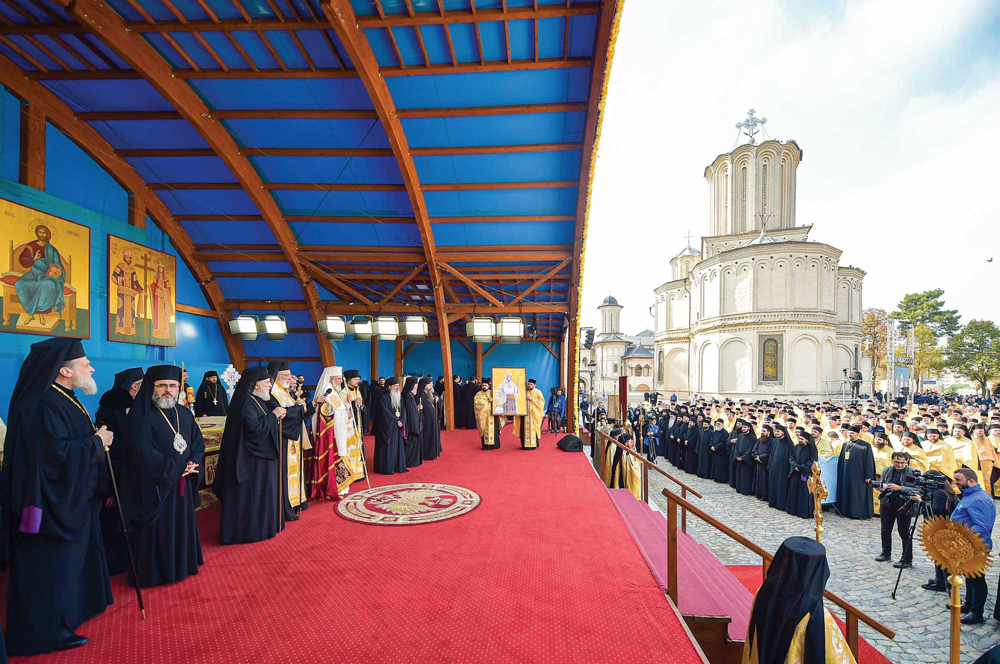 Prăznuirea Cuviosului Dimitrie cel Nou, Ocrotitorul Bucureștilor, la Patriarhie