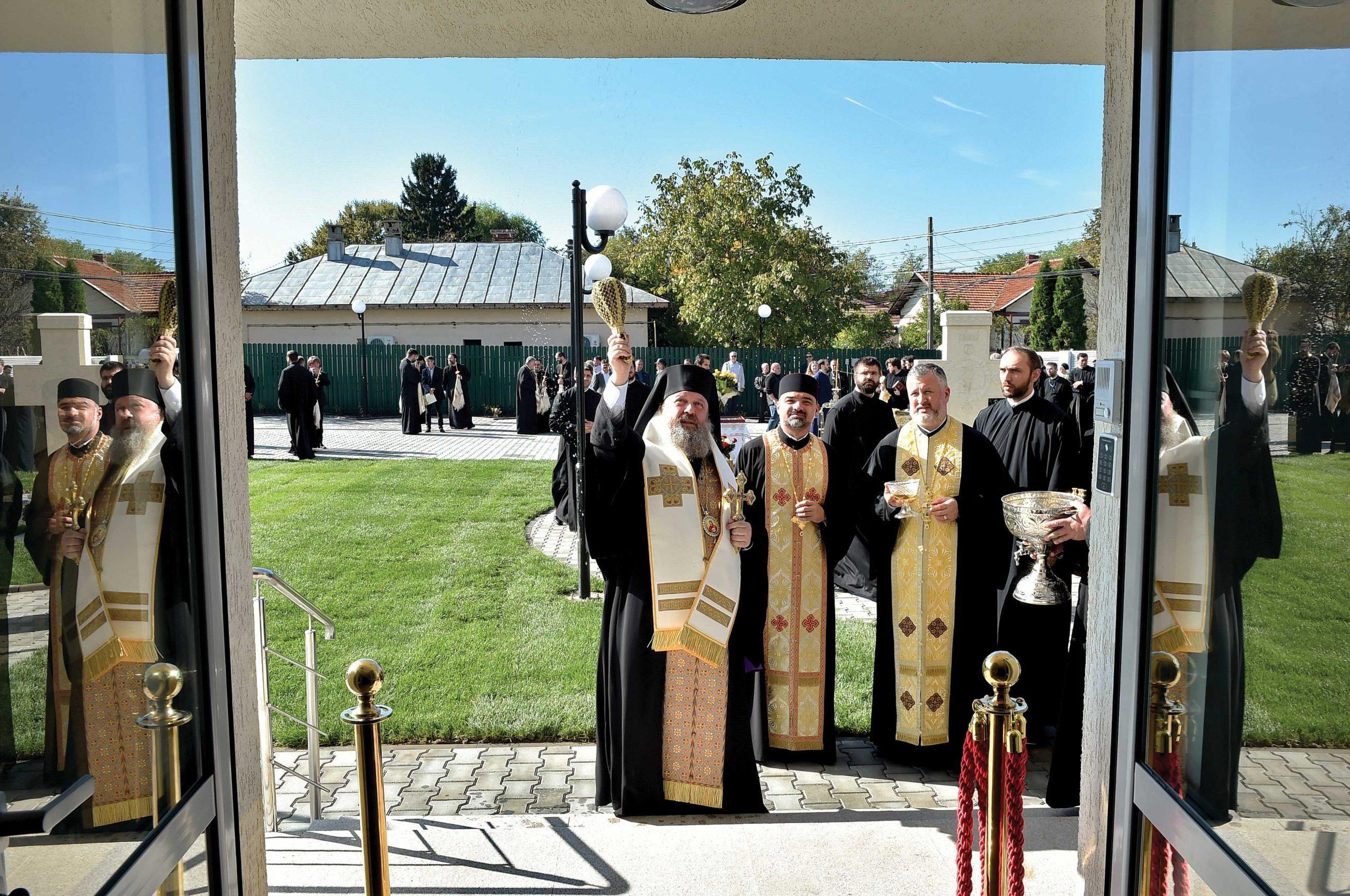 Sfințirea sediului administrativ al Protoieriei Ilfov Nord