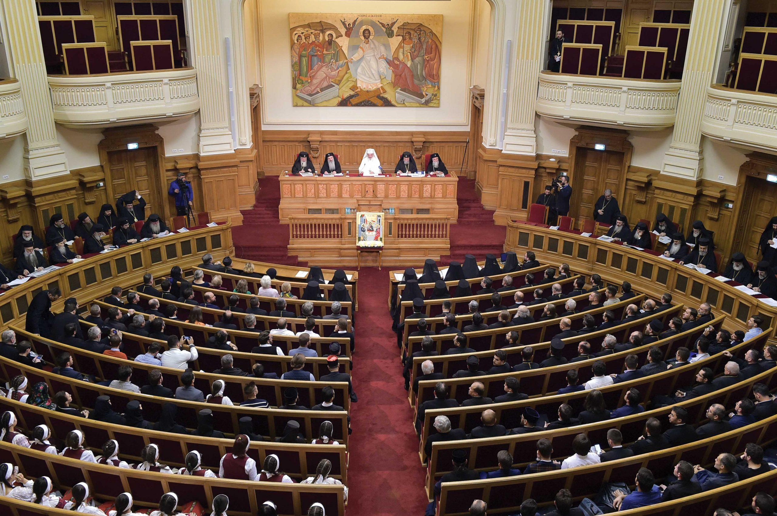 Şedinţă solemnă a Sfântului Sinod dedicată Anului omagial şi comemorativ 2019