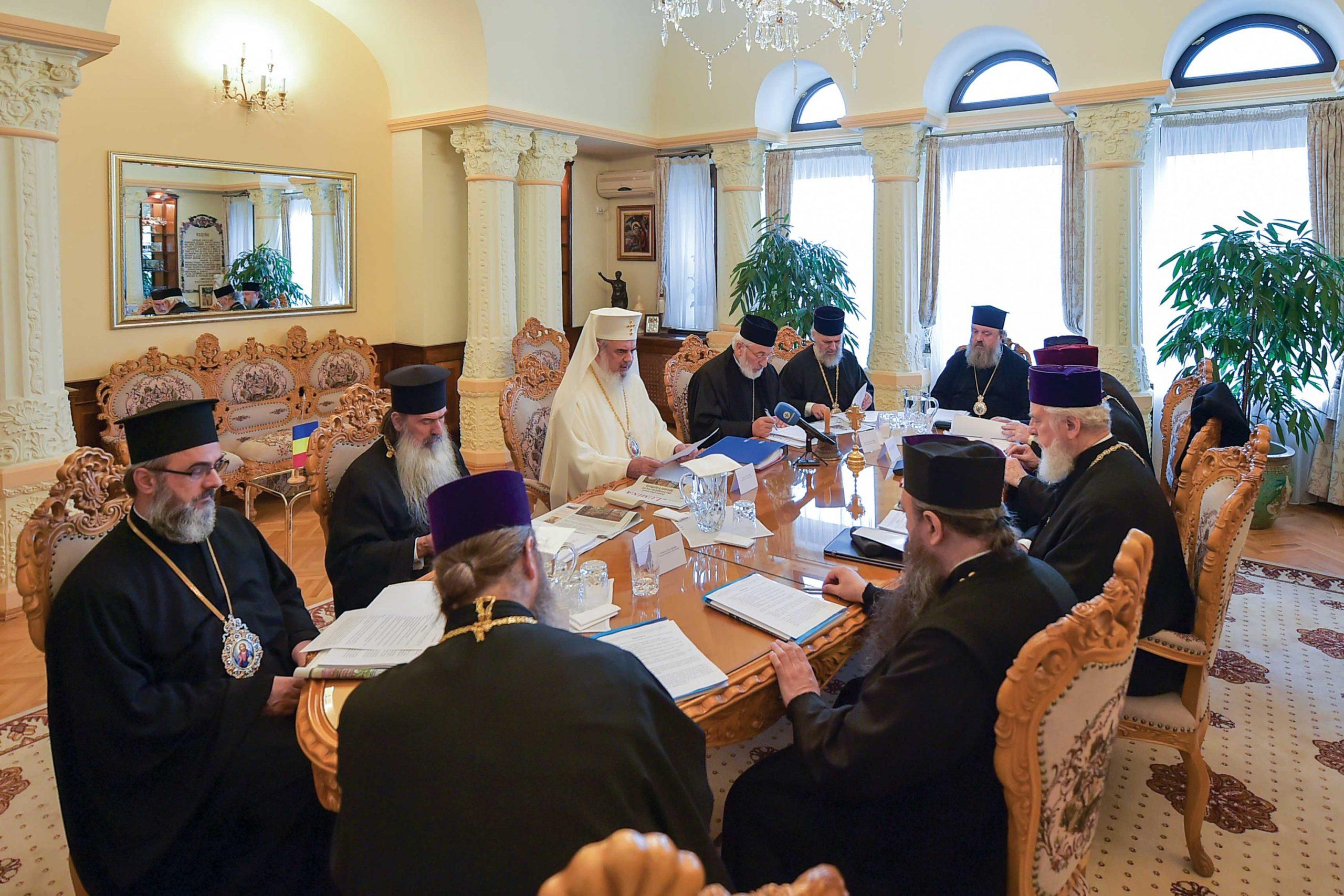 Întrunirea Sinodului Mitropoliei Munteniei și Dobrogei la Patriarhie