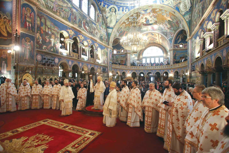 Sfântul Andrei Șaguna, prăznuit la catedrala din Sibiu