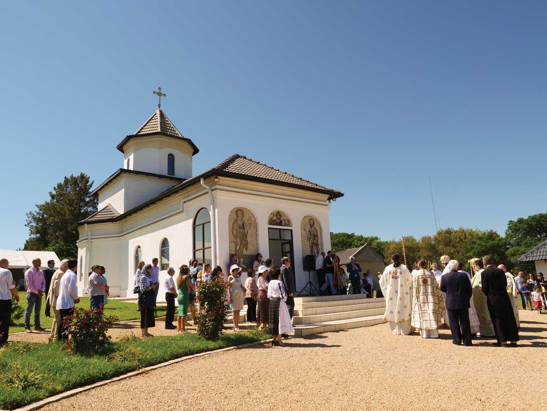 A fost sfințită prima biserică ortodoxă românească din Africa