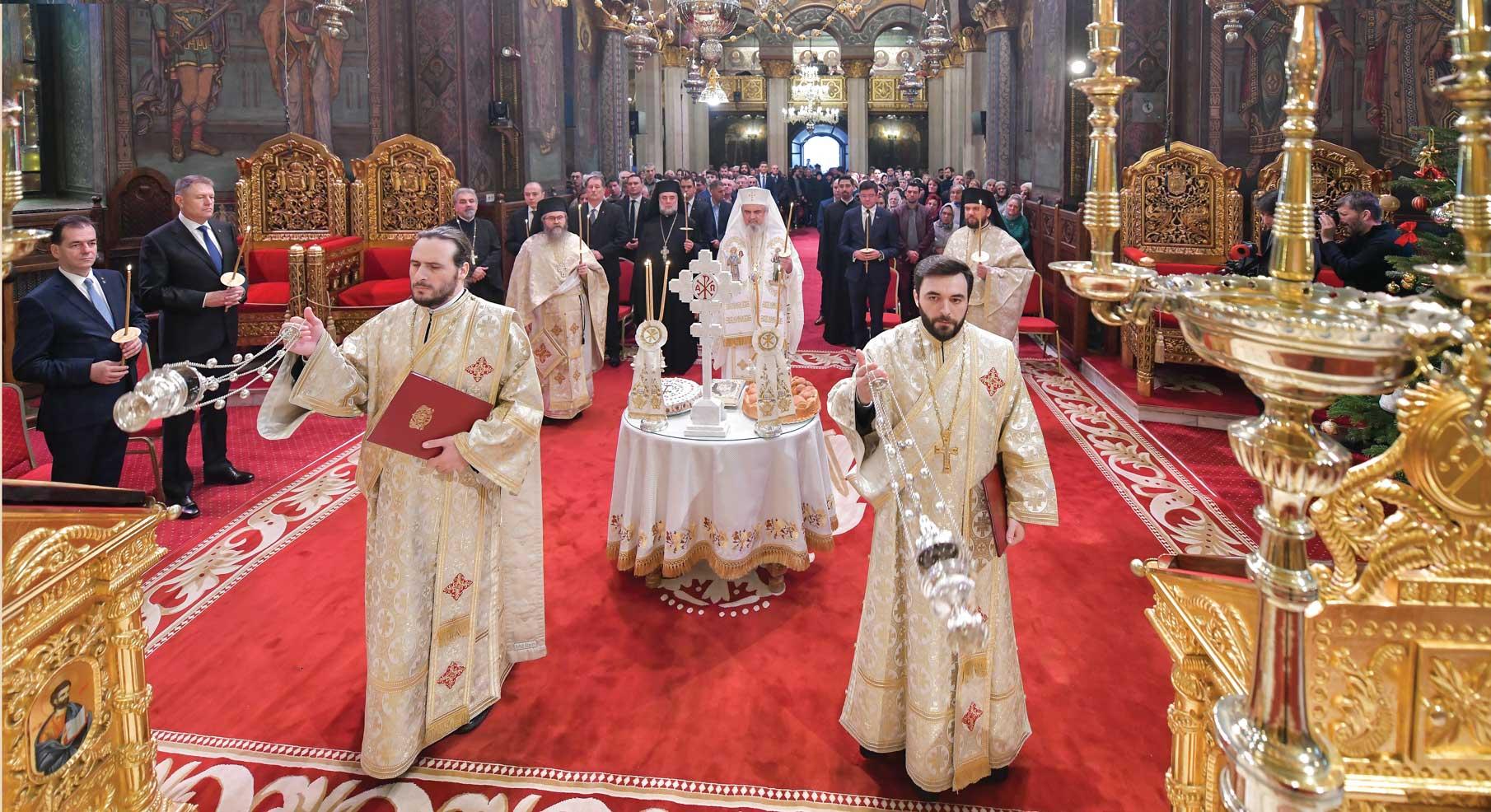 Parastas în Catedrala Patriarhală pentru eroii Revoluţiei române