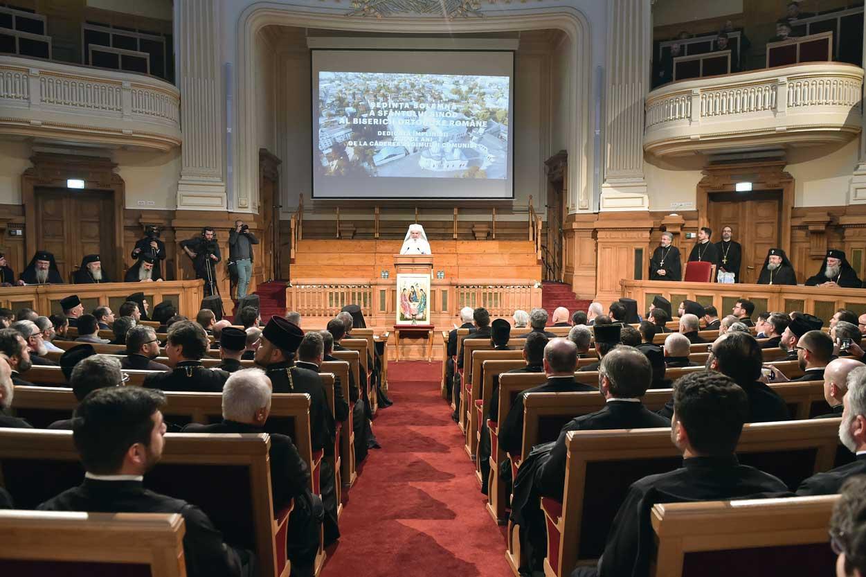 Ședință solemnă a Sfântului Sinod dedicată Revoluției din 1989