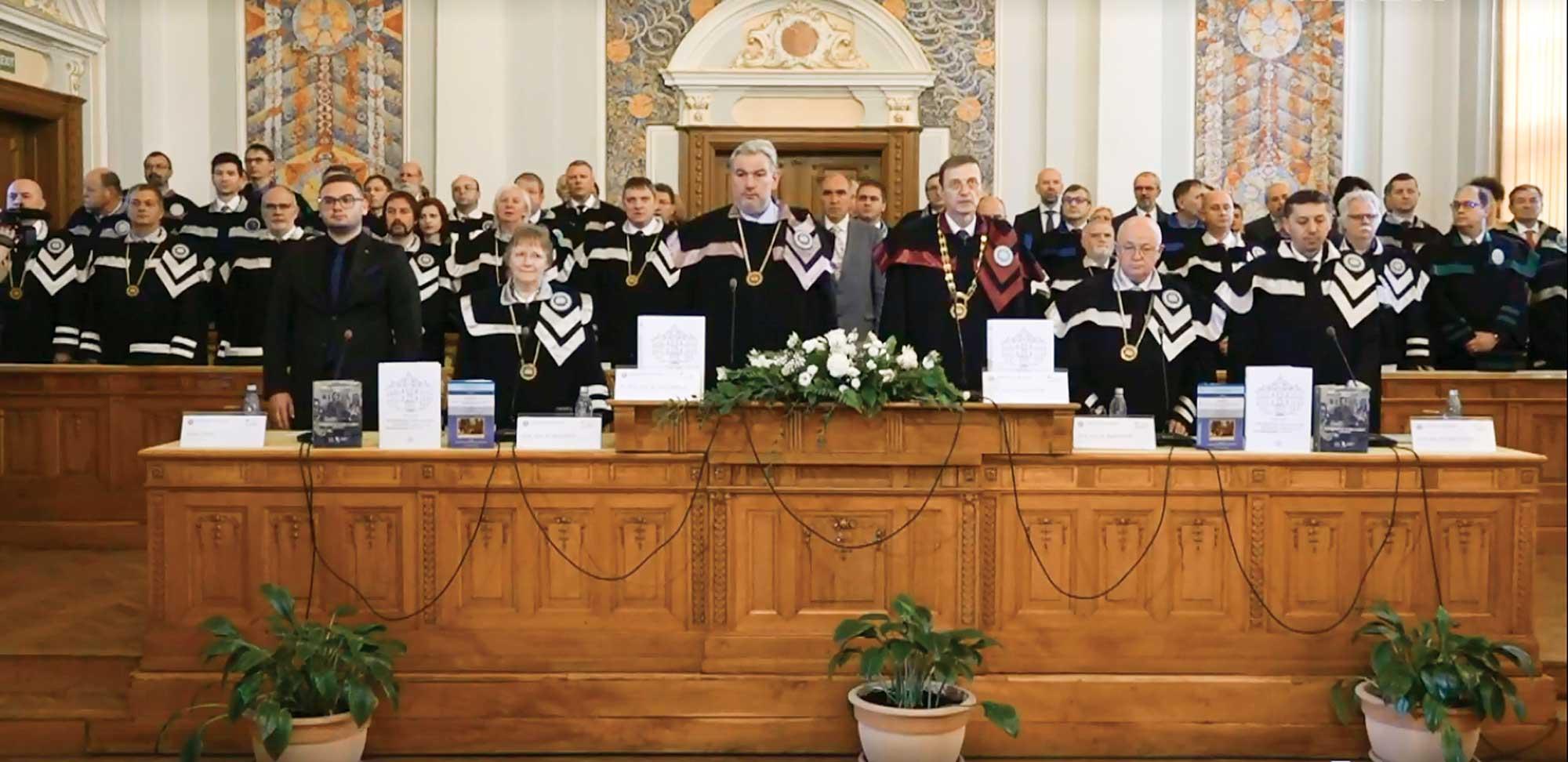 """Centenarul Universității """"Babeș-Bolyai"""", sărbătorit la Cluj-Napoca"""