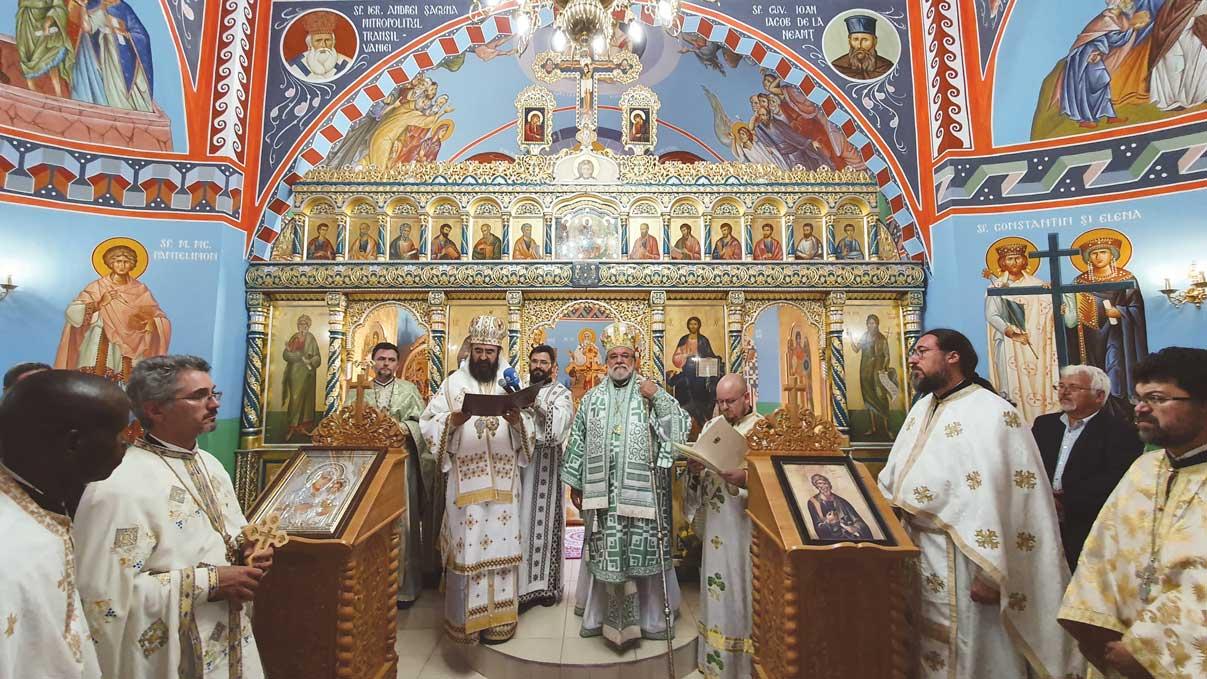 Bucuria comuniunii în biserica românească din Africa de Sud