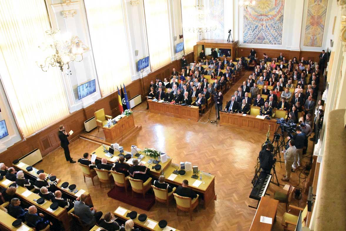 O prestigioasă Universitate românească și europeană la ceas aniversar