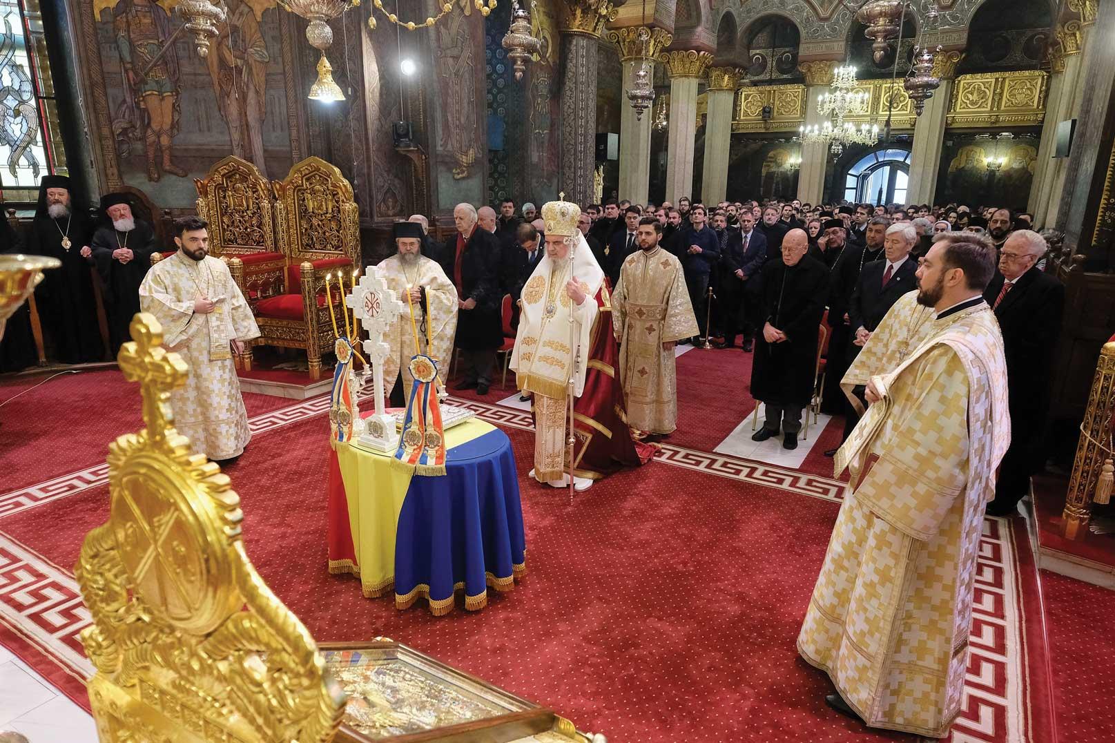 Aniversarea Unirii Principatelor Române la Patriarhie
