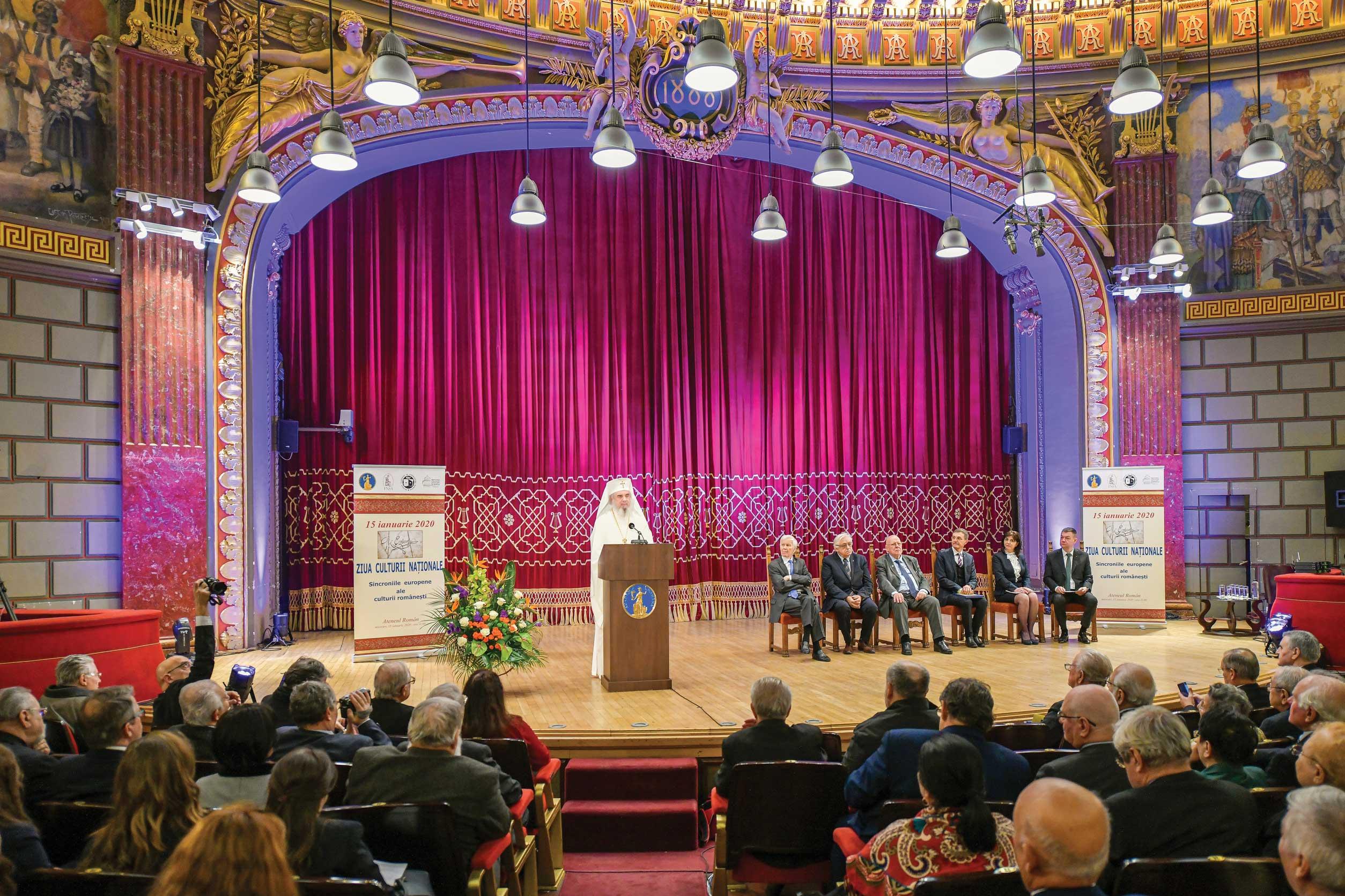 Ziua Culturii Naţionale, sărbătorită la Ateneul Român