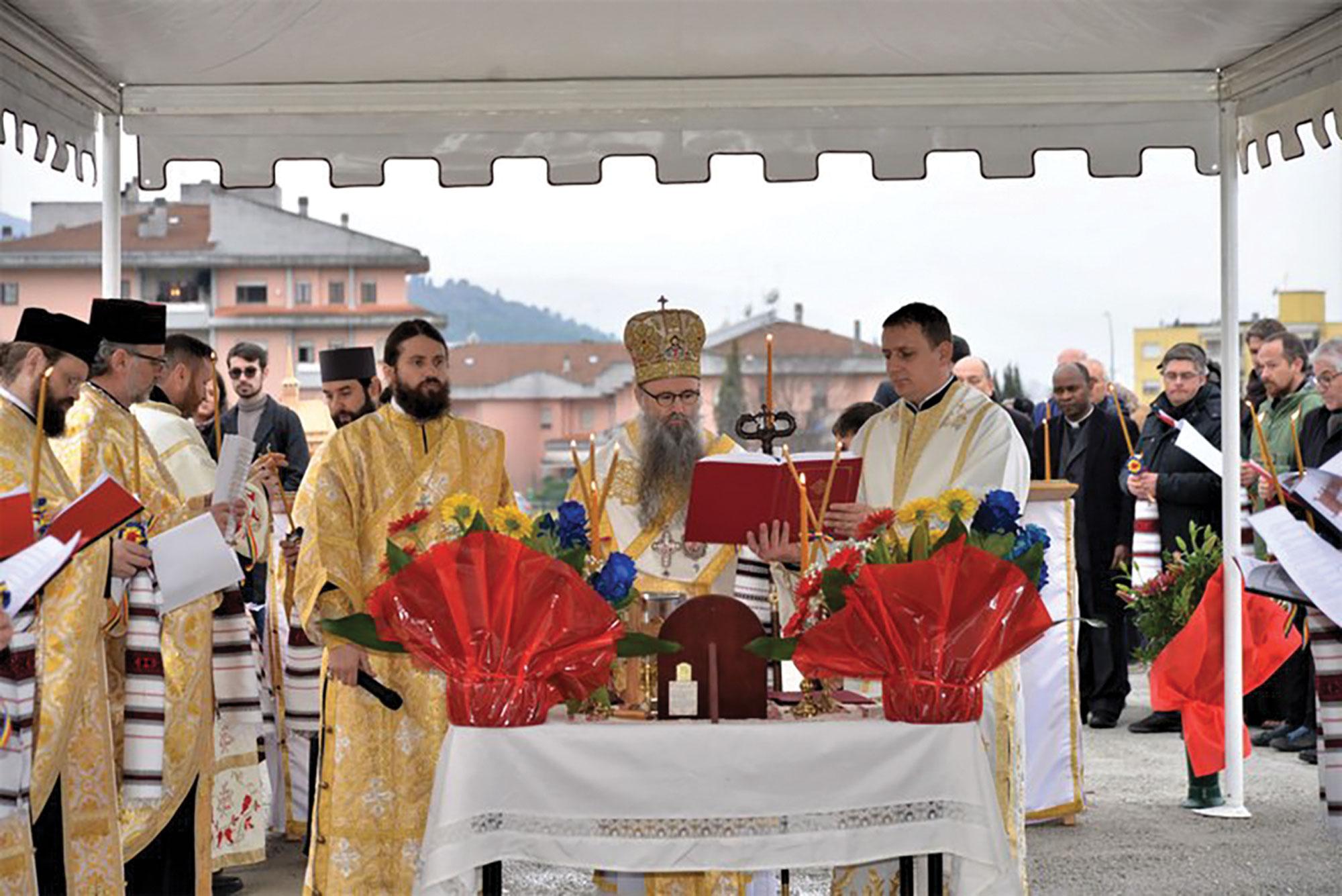 O nouă biserică pentru românii ortodocşi din Italia