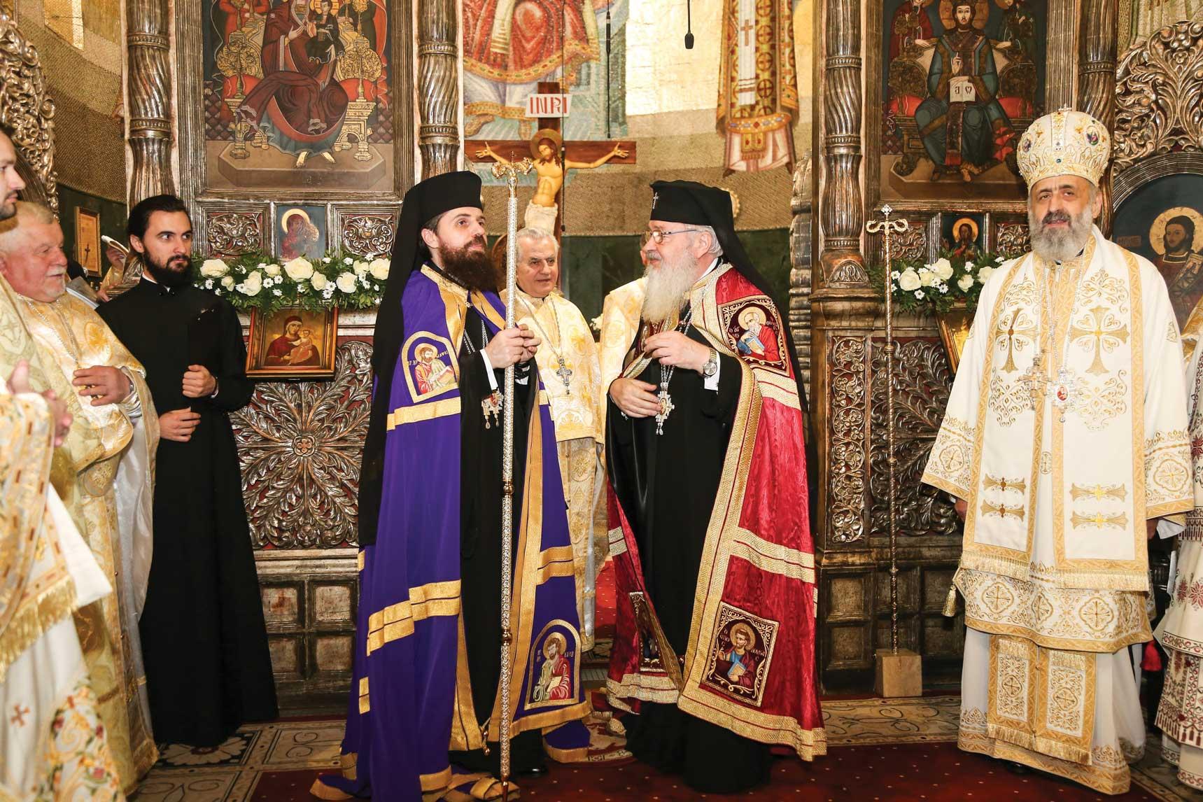 Hirotonia Preasfinţitului Părinte Benedict Bistriţeanul