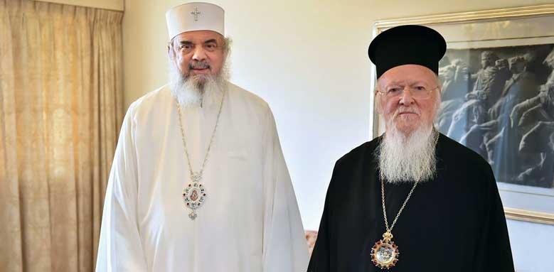Mesaj de felicitare adresat Sanctităţii Sale Bartolomeu, Patriarhul Ecumenic
