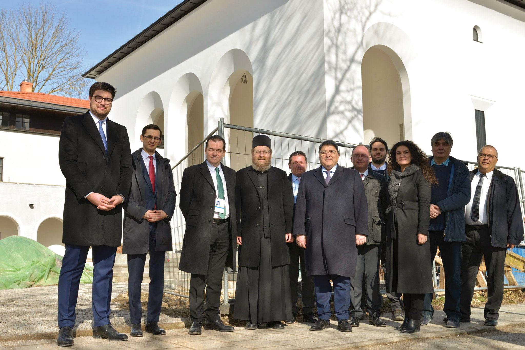Prim-ministrul României a vizitat șantierul Așezământului Bisericesc din München