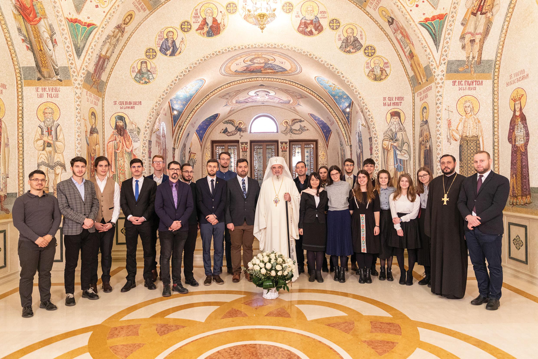 Reprezentanţii ASCOR  în vizită la Patriarhul României