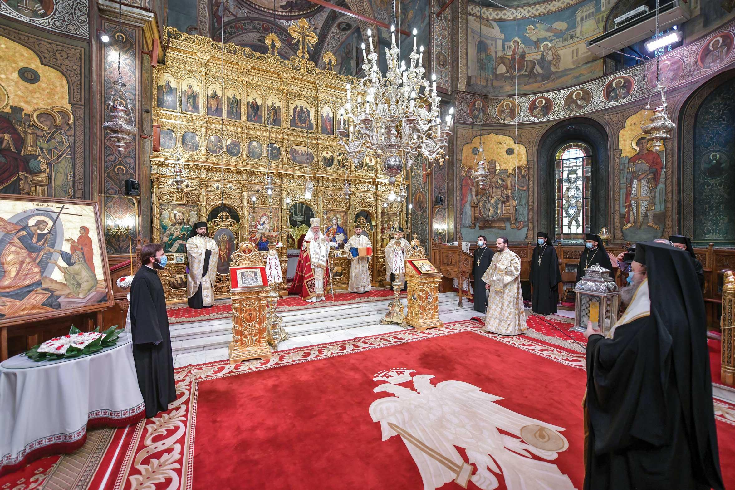 Praznicul Sfintelor Paşti la Catedrala Patriarhală