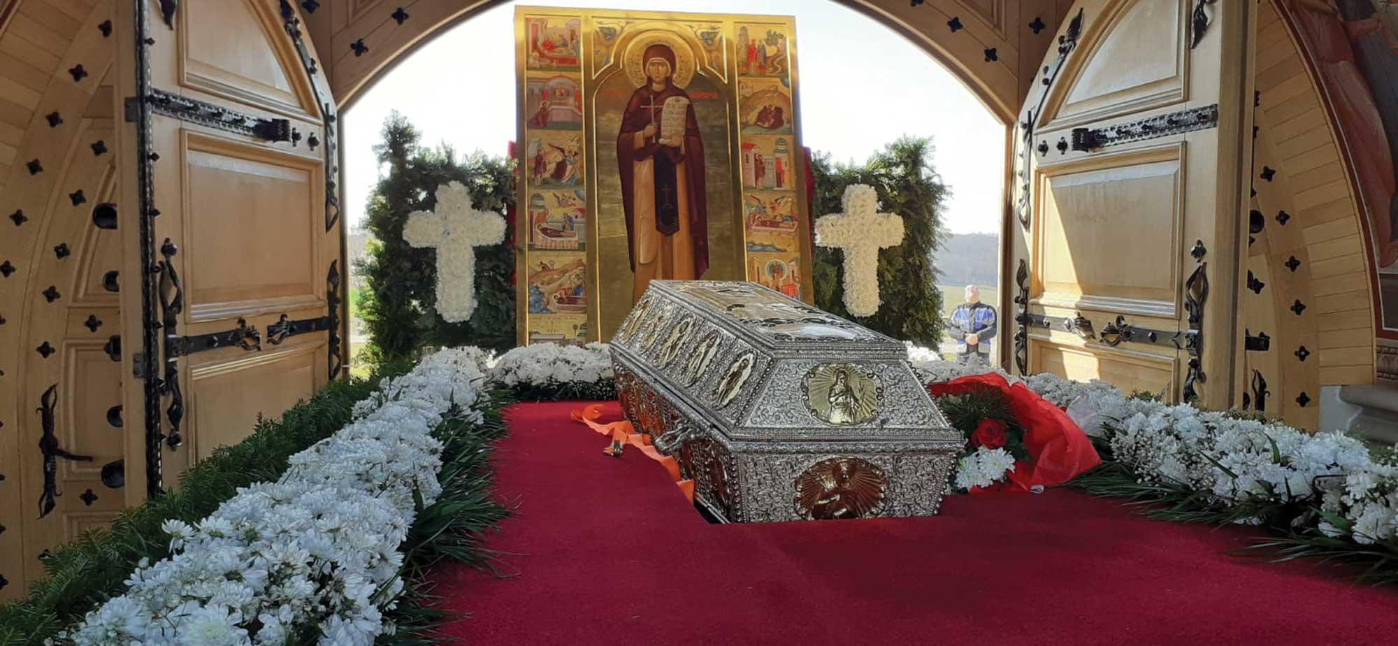 Moaștele Sfintei Cuvioase Parascheva au poposit în principalele orașe din județele Iași, Neamț și Botoșani