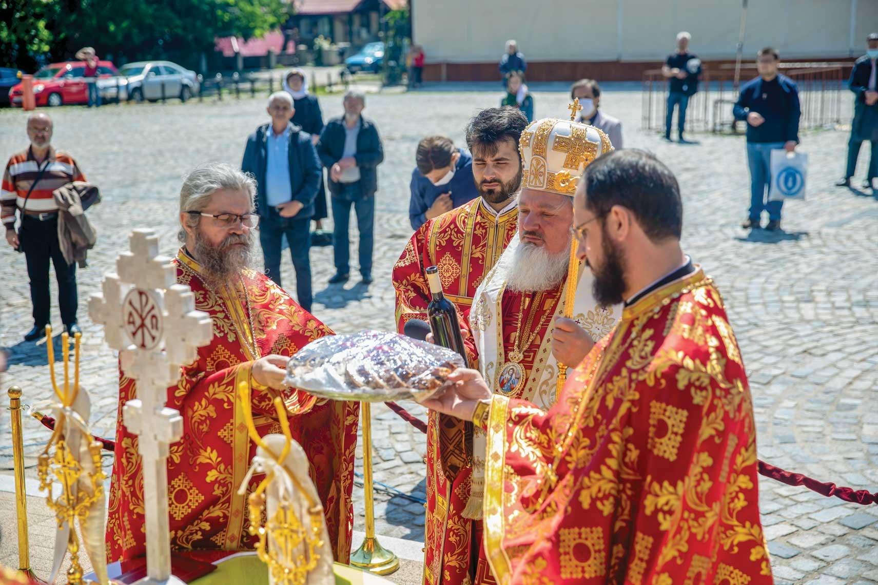Reprezentanții români la semnarea Tratatului de la Trianon, pomeniți la Patriarhie