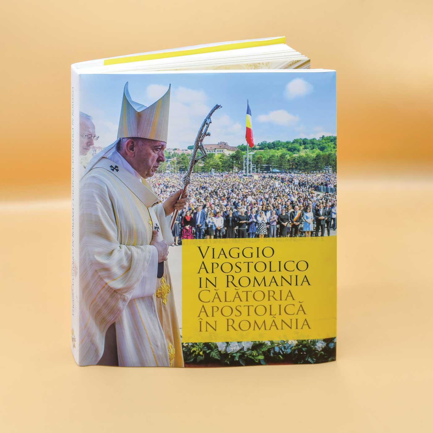 Viaggio Apostolico in Romania – Călătoria apostolică în România, București, Editura Tracus Arte, 2020 (295 pagini)