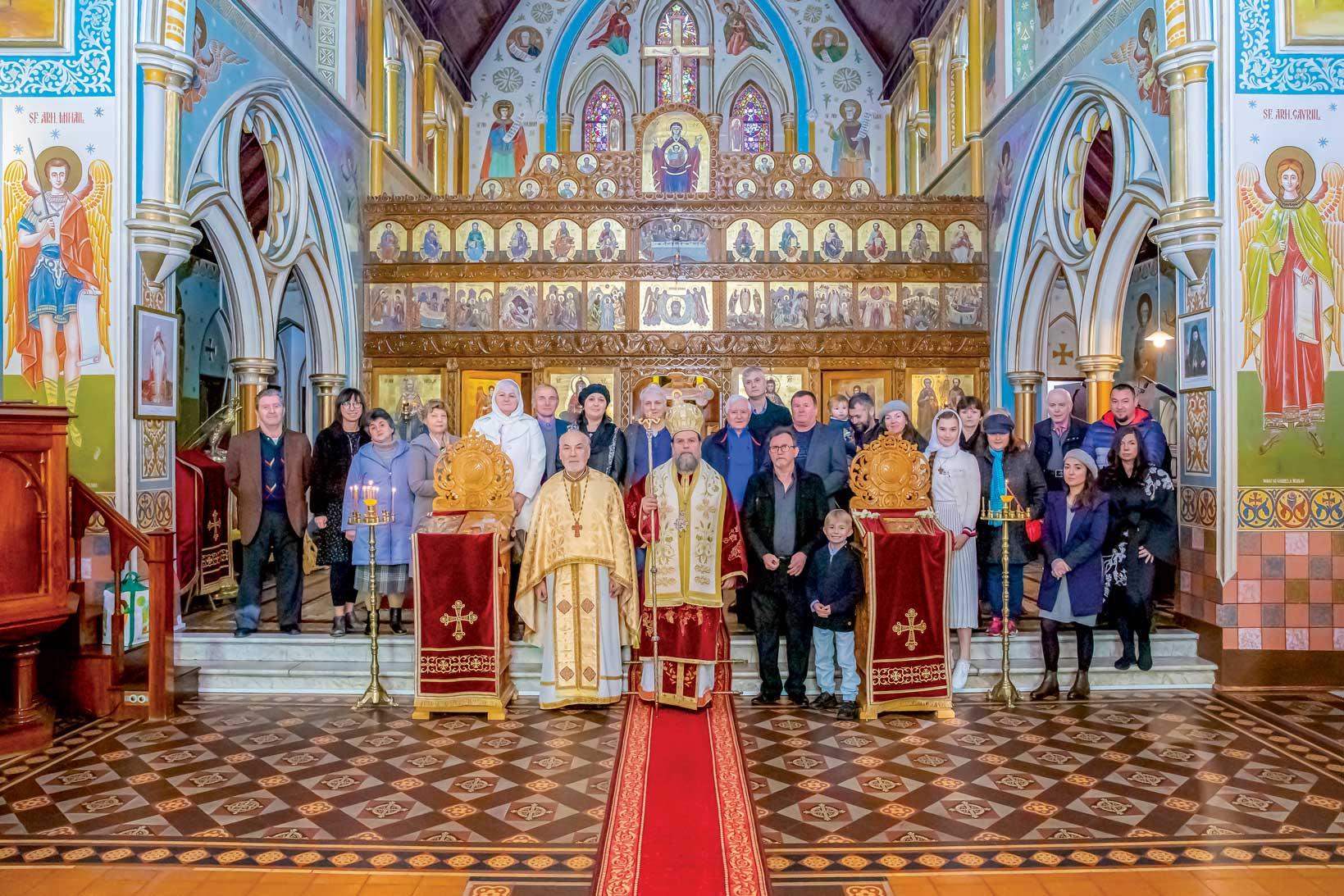 Hramul catedralei româneşti din Melbourne, Australia