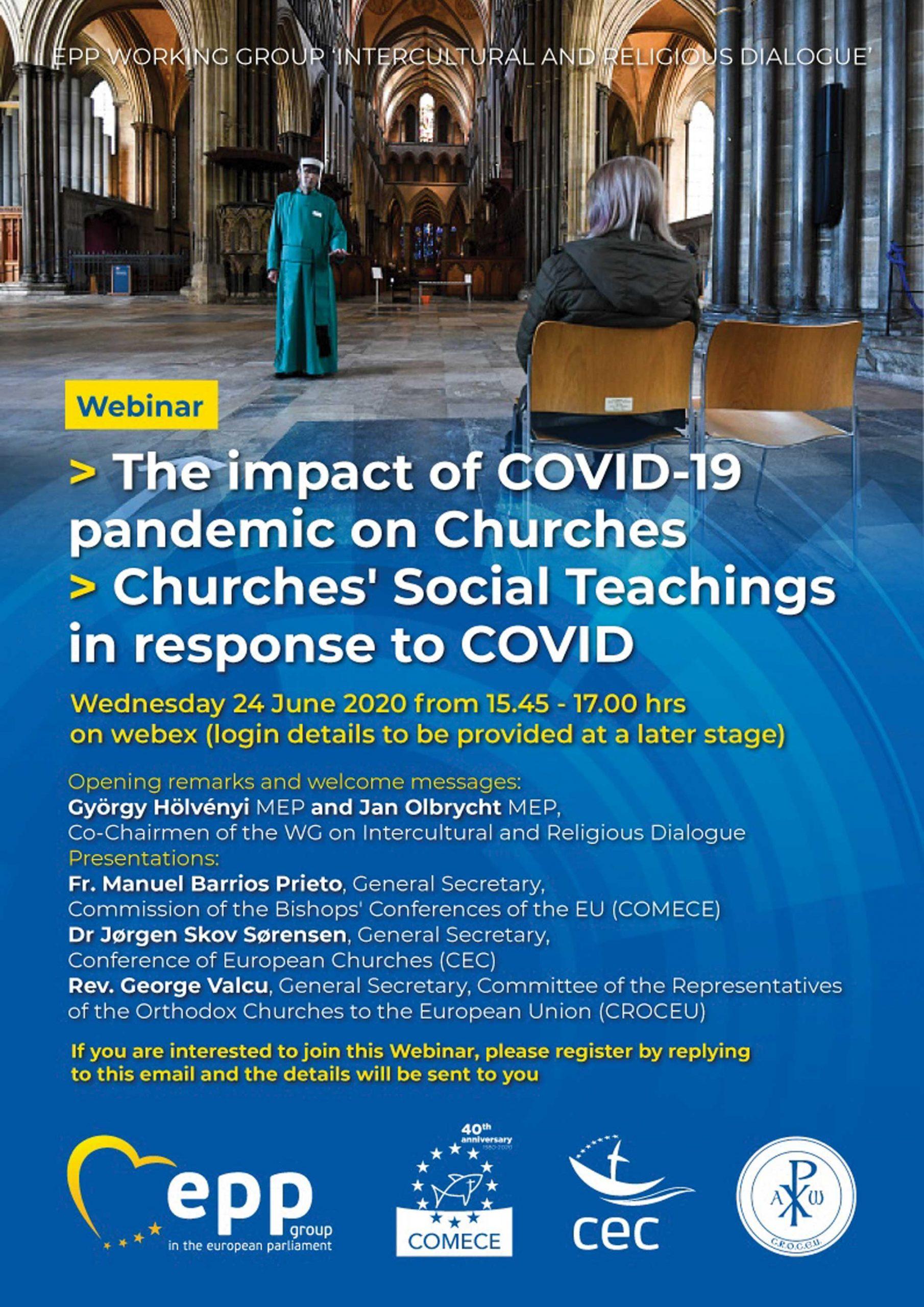 Conferință on-line despre cum a afectat  pandemia de COVID-19 viața Bisericii