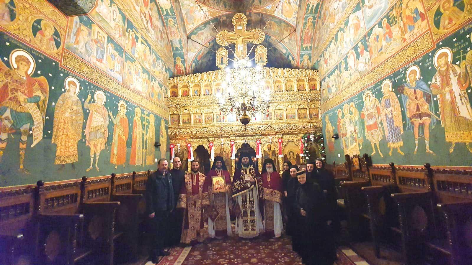 Sfântul Gheorghe, sărbătorit la Așezământul Românesc de la Ierusalim