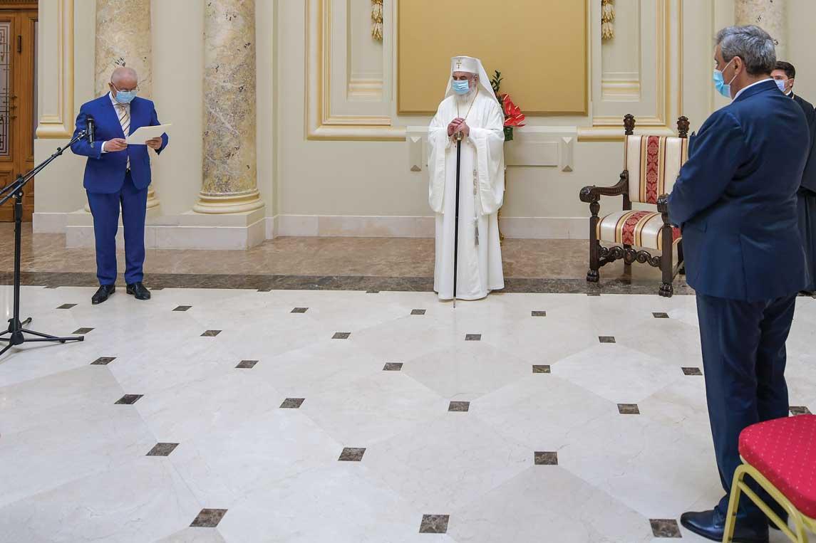Mesaje de felicitare transmise cu ocazia zilei de naștere a Preafericitului Părinte Daniel, Patriarhul României
