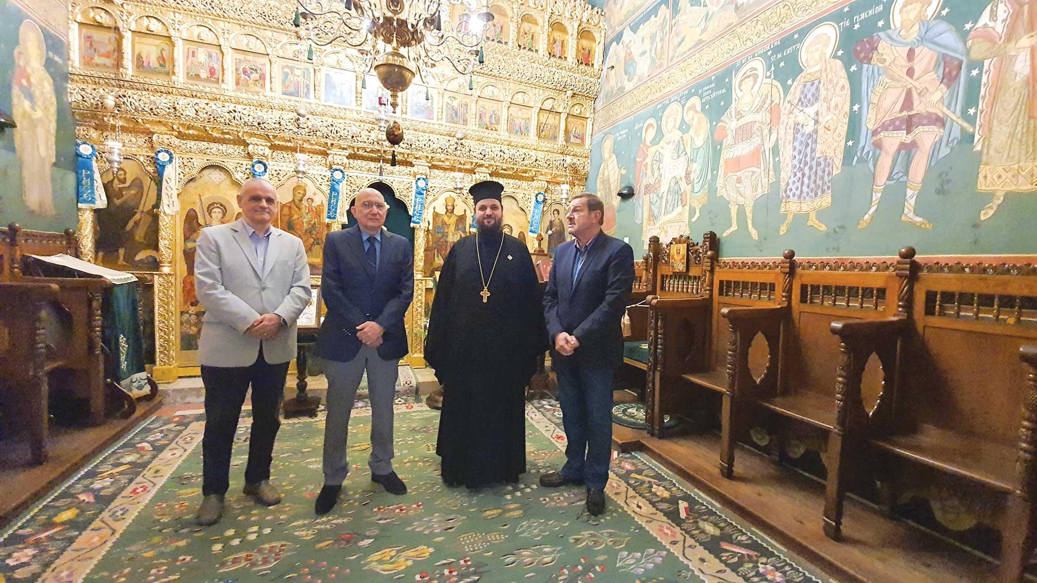 Ambasadorul României în Israel, în vizită la Reprezentanţa Patriarhiei Române din Ierusalim
