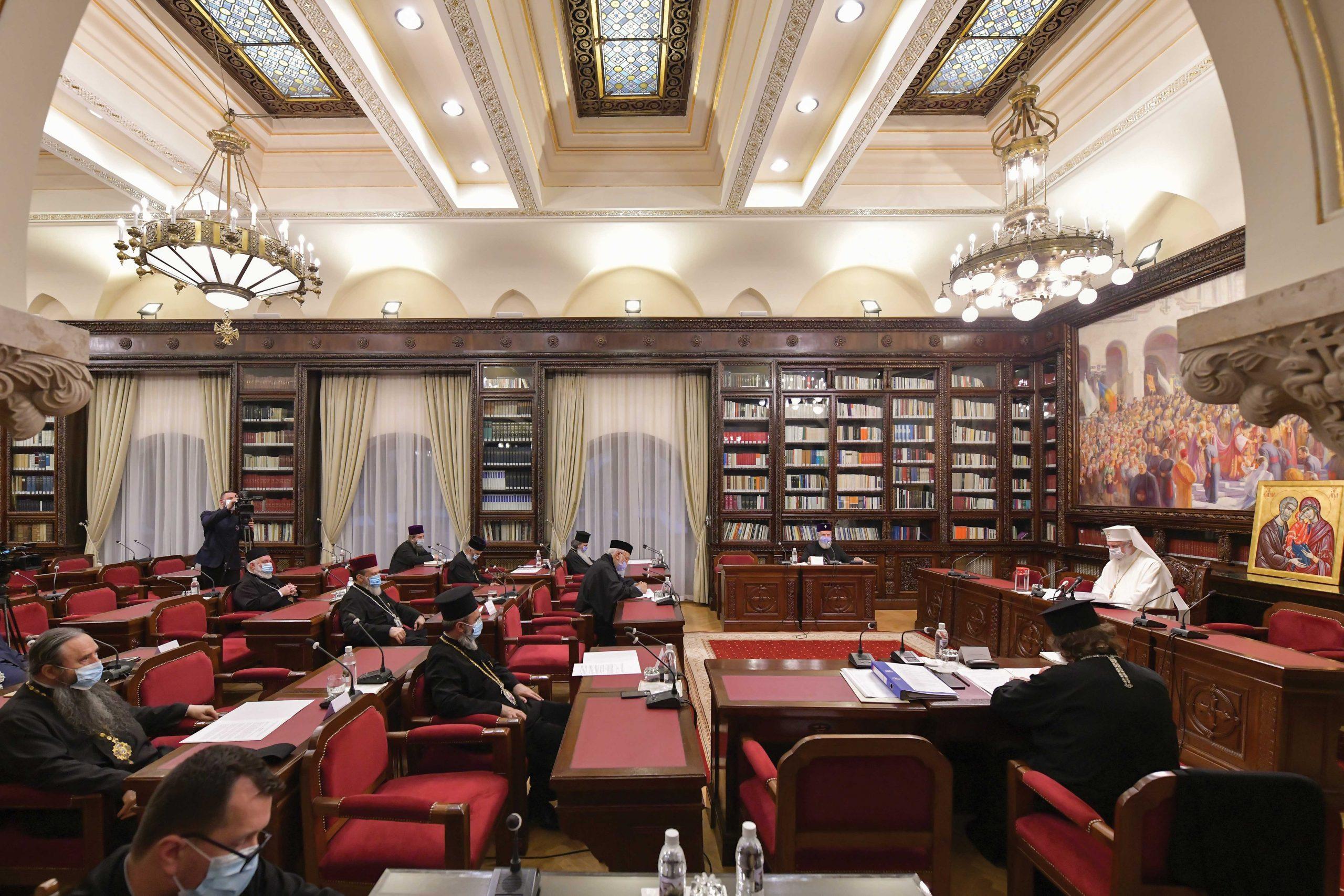 Întrunirea Sinodului Mitropoliei Munteniei  și Dobrogei la Reședința Patriarhală