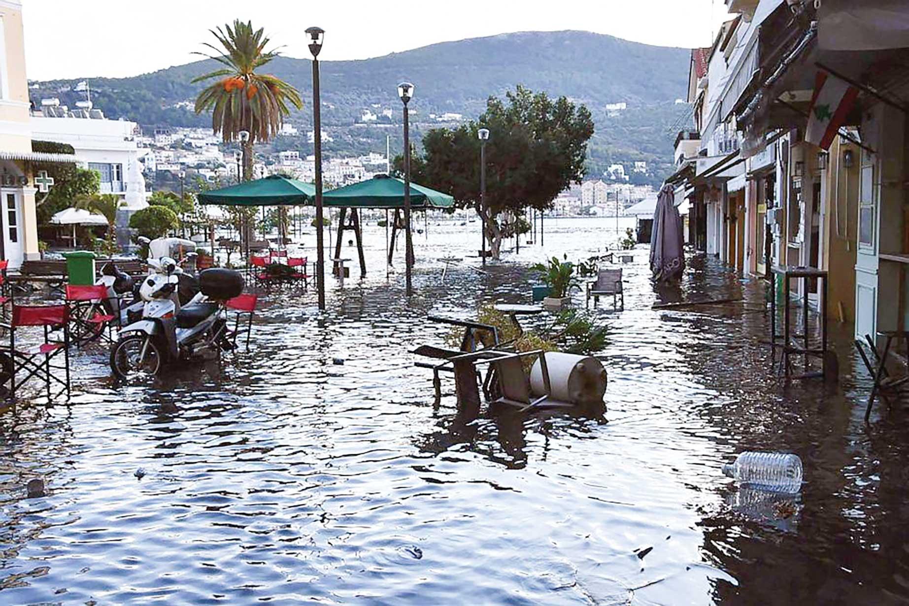 Solidaritate cu poporul elen în urma puternicului cutremur din Grecia