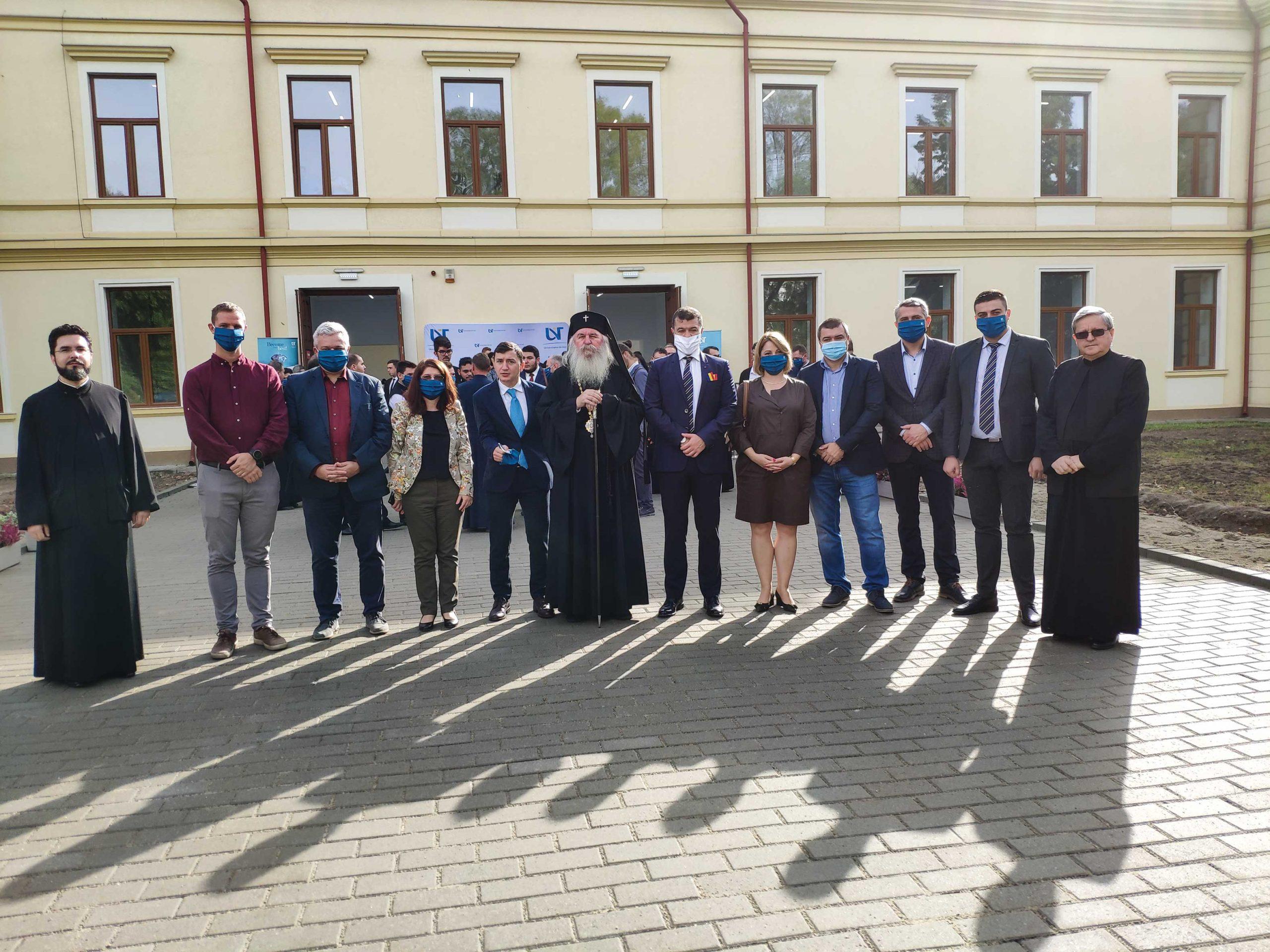 Facultatea de Teologie Ortodoxă  din Timișoara are un nou sediu