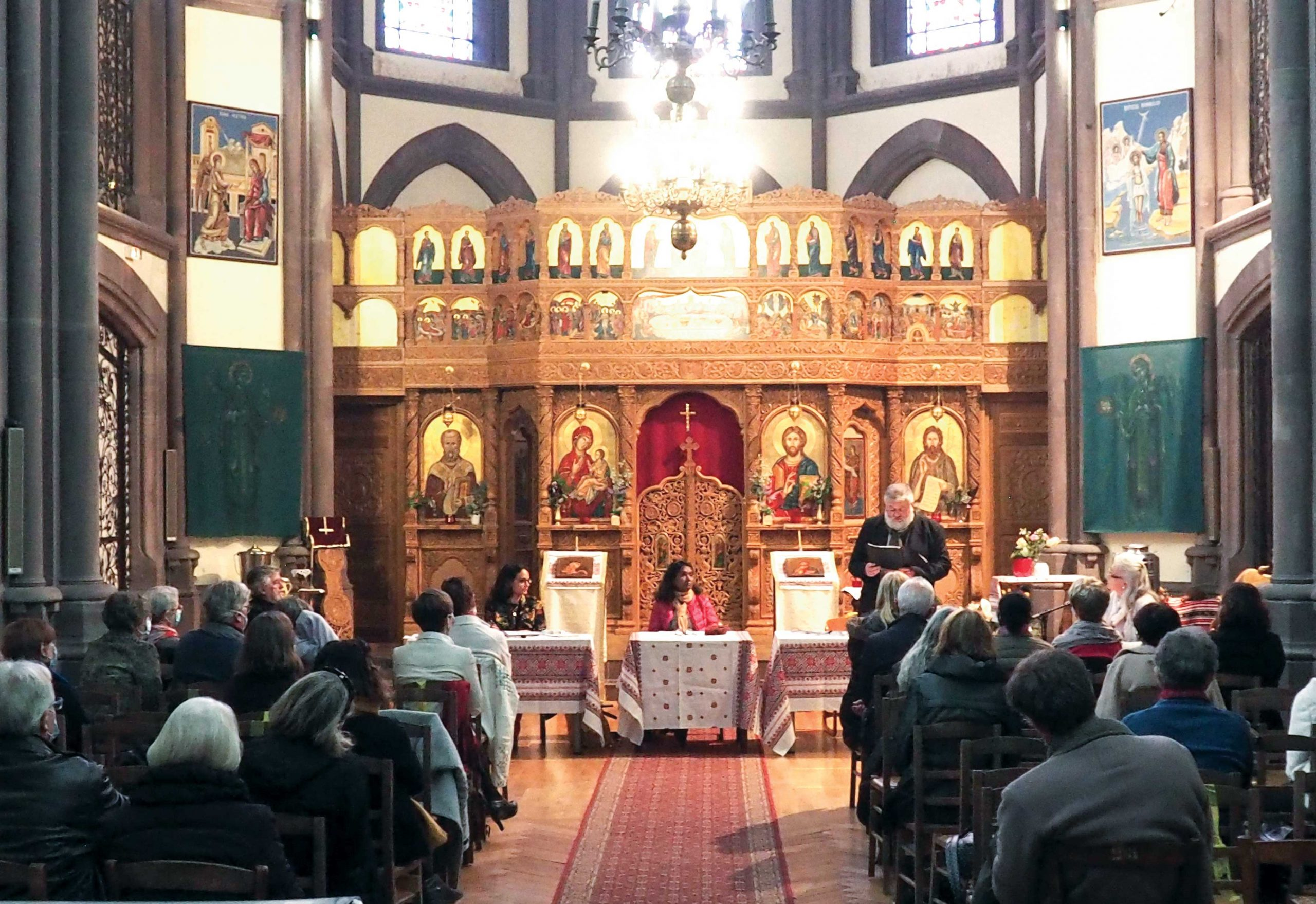 Parohia românească din Strasbourg a participat la Forumul religiilor