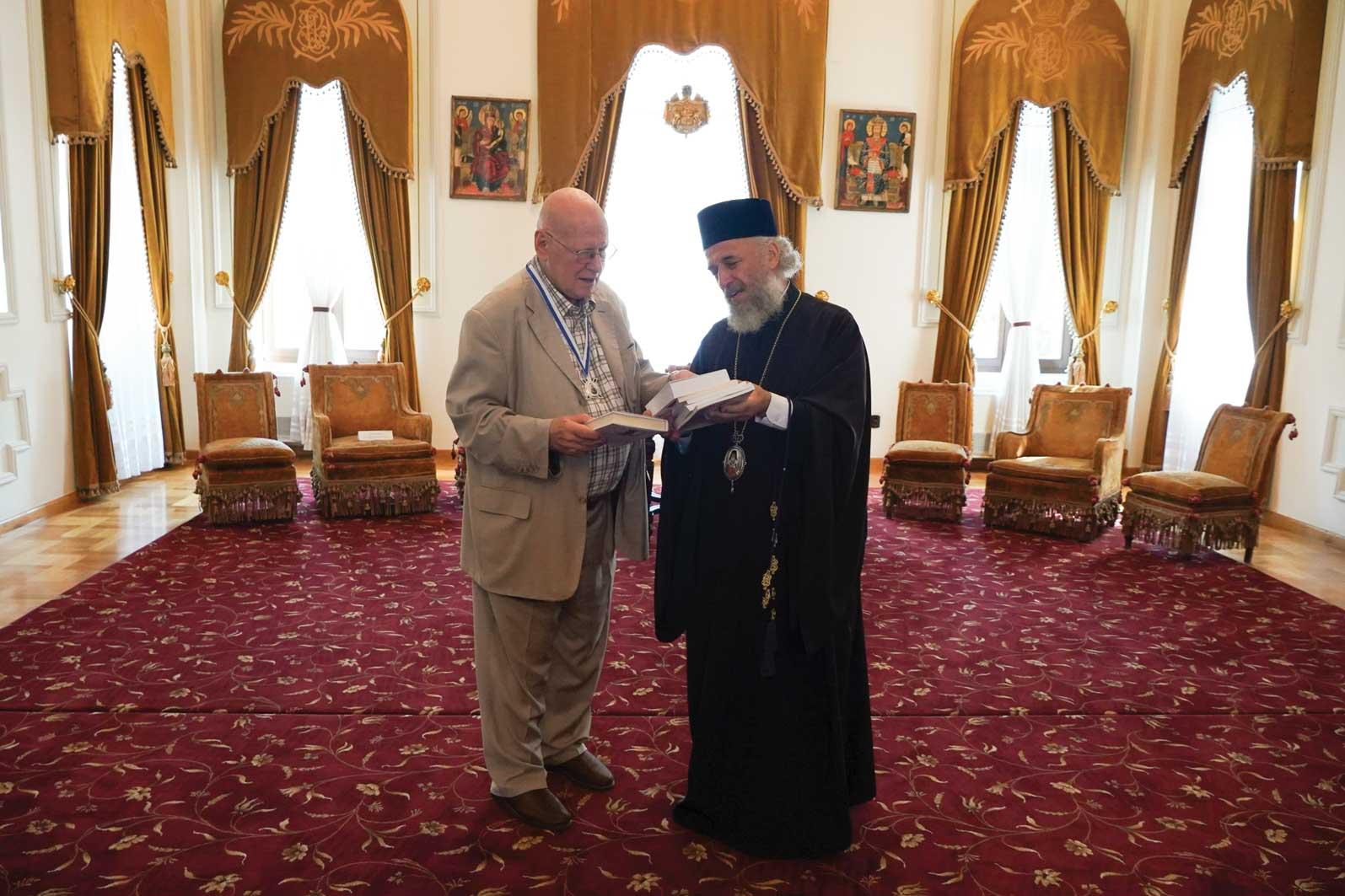 Distincţie a Arhiepiscopiei Dunării de Jos acordată academicianului Răzvan Theodorescu