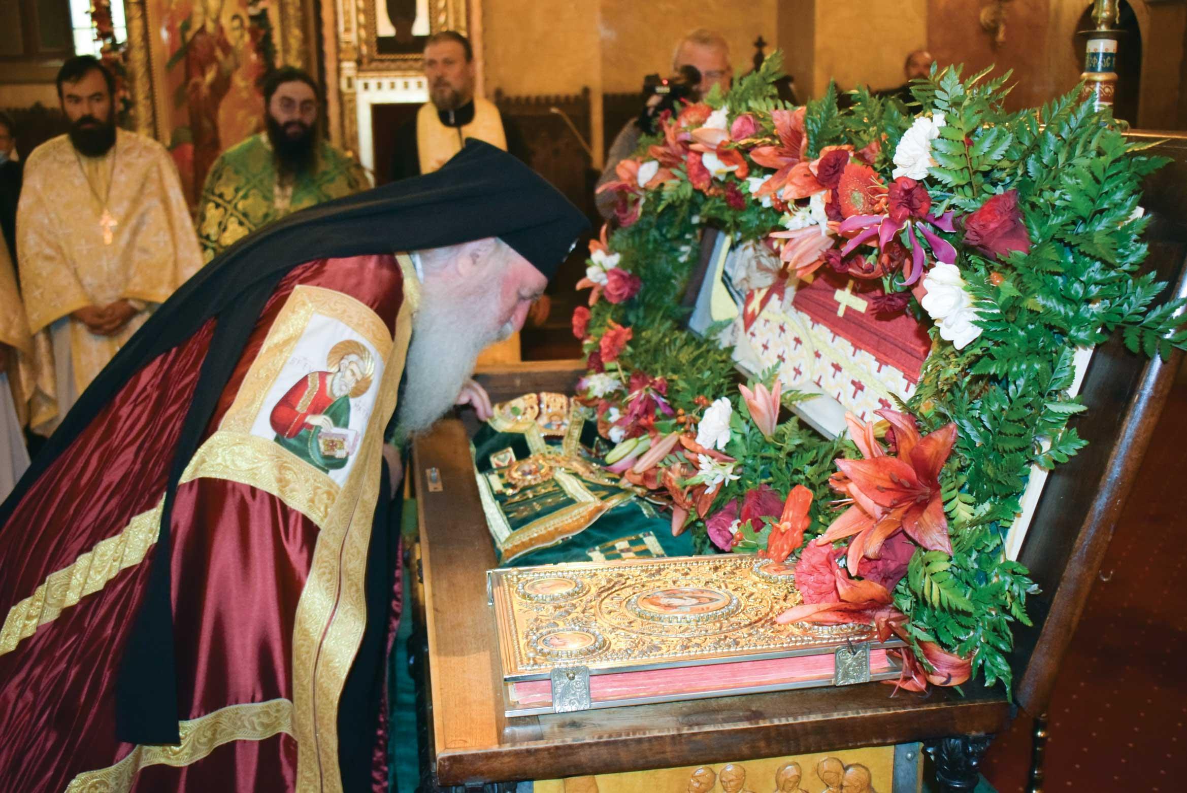 Sfântul Ierarh Iosif cel Nou, cinstit în capitala Banatului