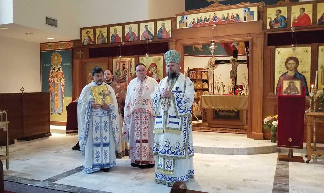 Vizite pastorale la misiuni  ortodoxe românești din Statele Unite ale Americii