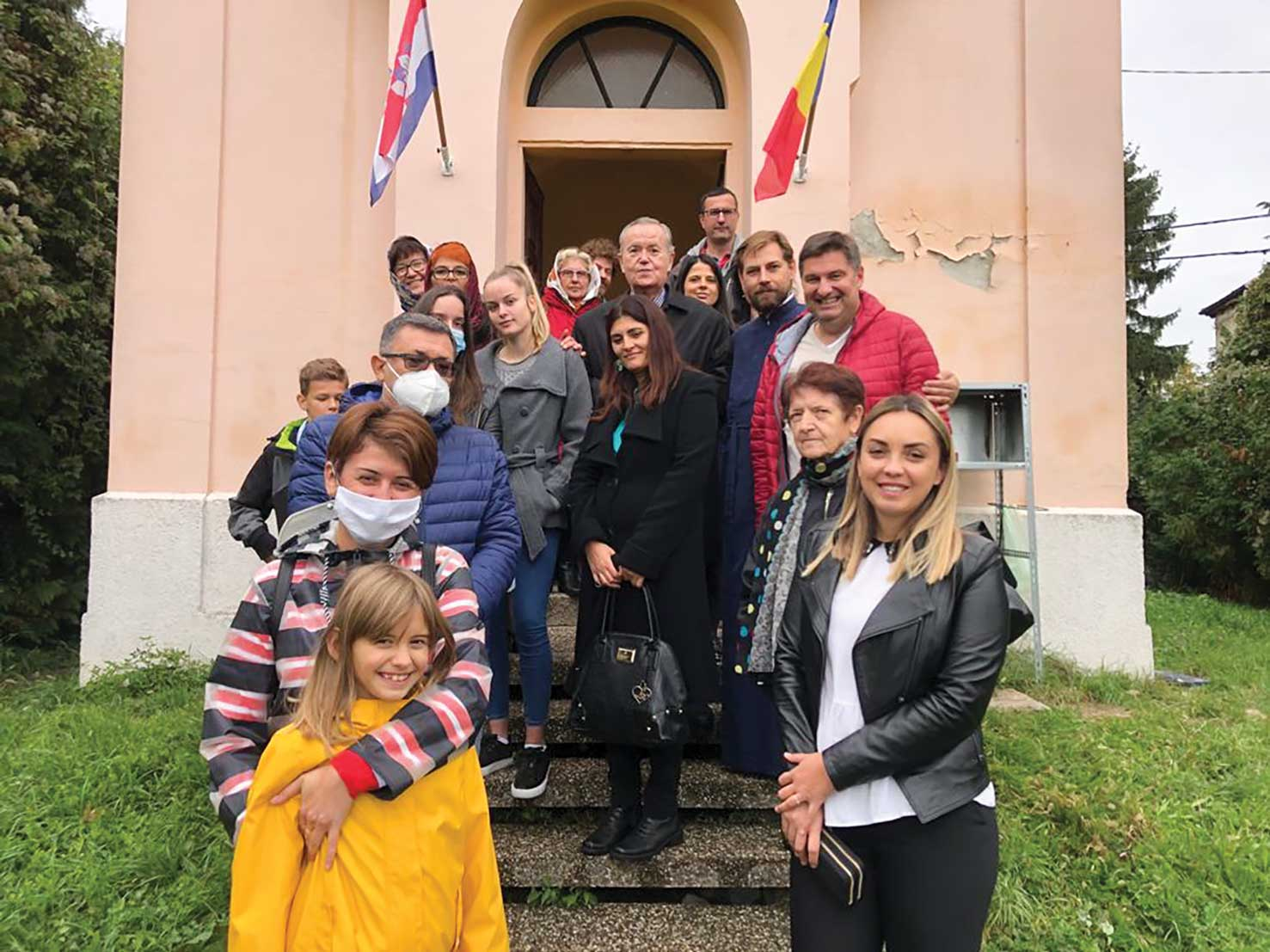 Binecuvântare  pentru credincioșii români din Zagreb, Croația