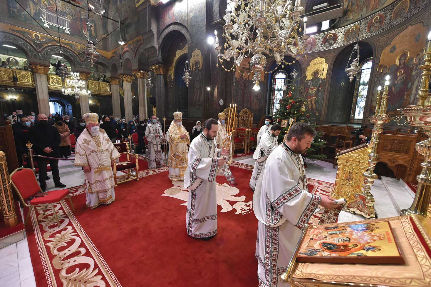 Sărbătoarea Nașterii Domnului la Catedrala Patriarhală
