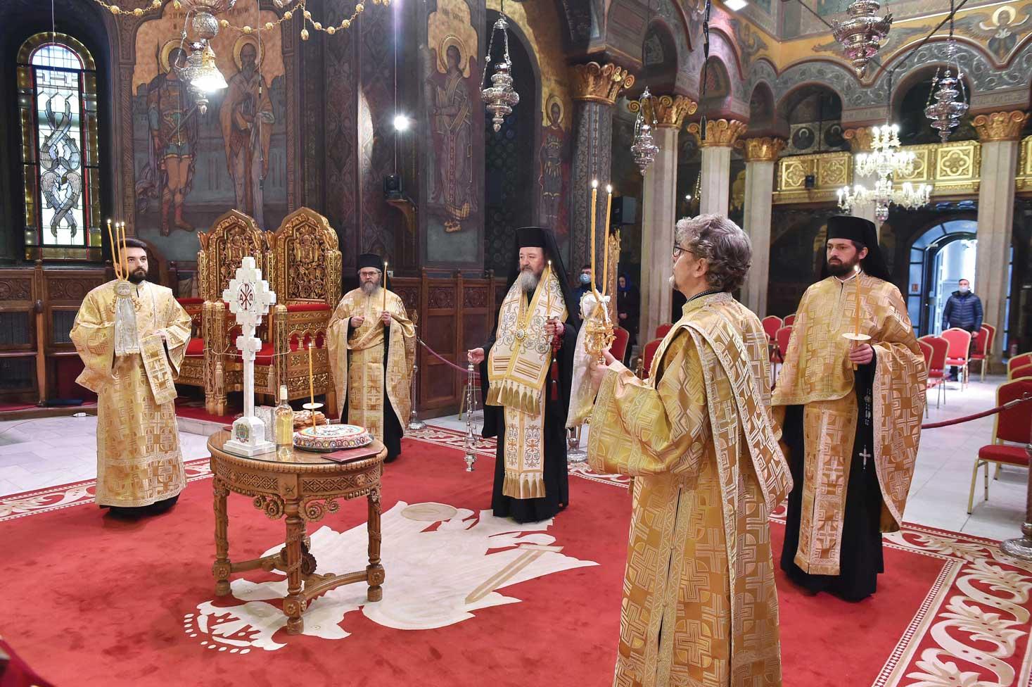Comemorarea eroilor Revoluţiei la Catedrala Patriarhală  și la monumente din Capitală