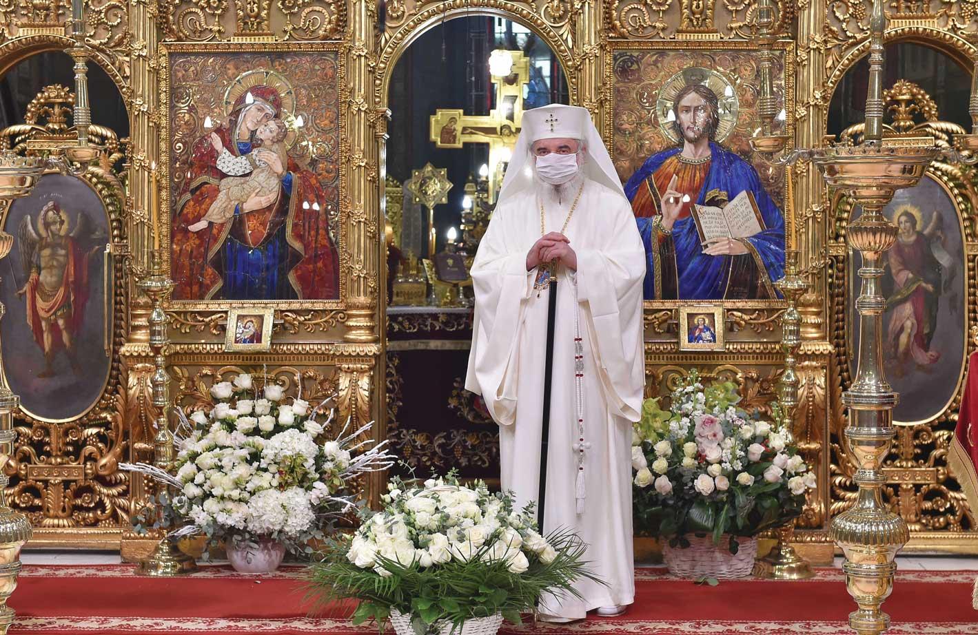 Patriarhul României și-a sărbătorit ocrotitorul spiritual
