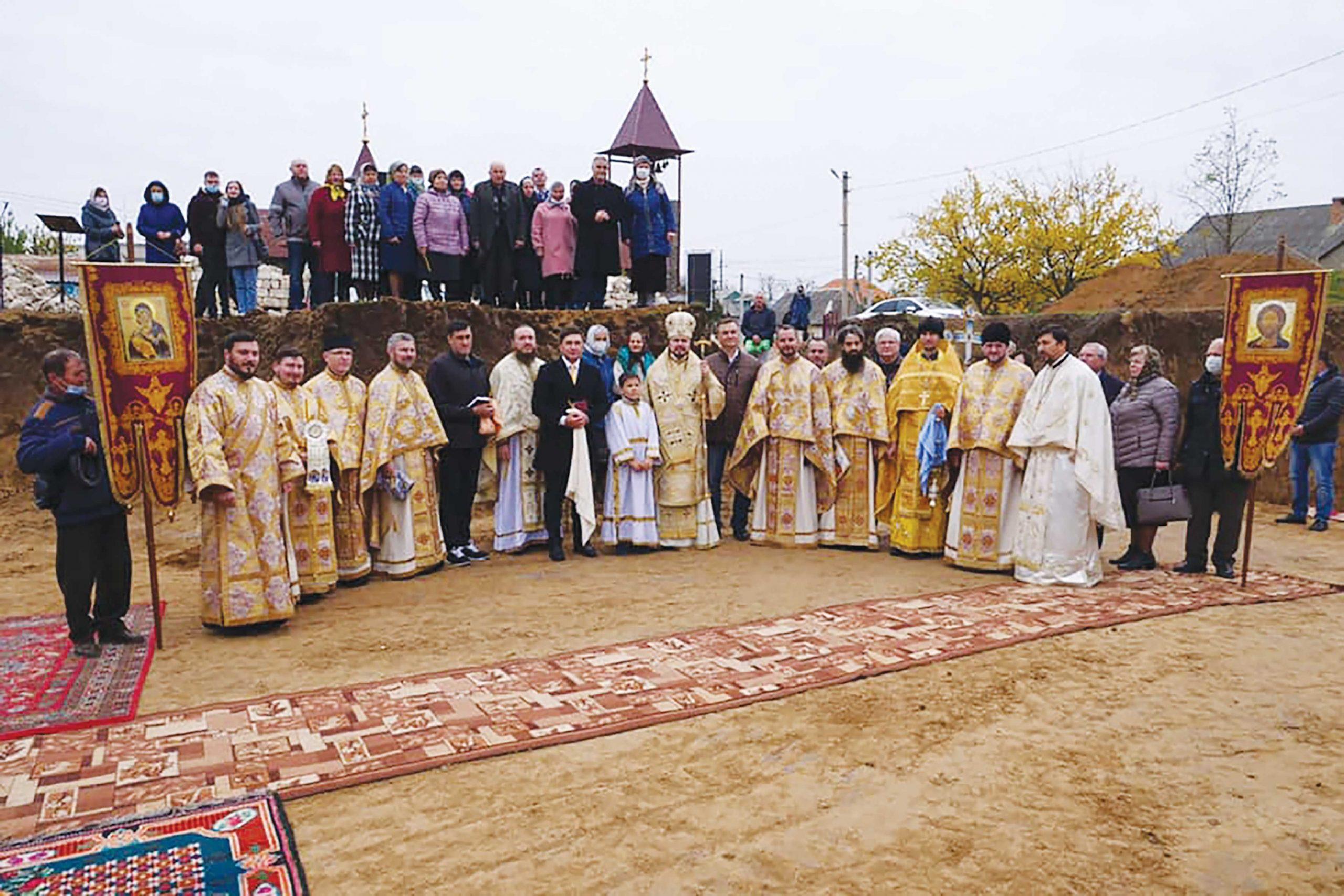La Căușeni se va construi o biserică în cinstea Sfinților Martiri Brâncoveni