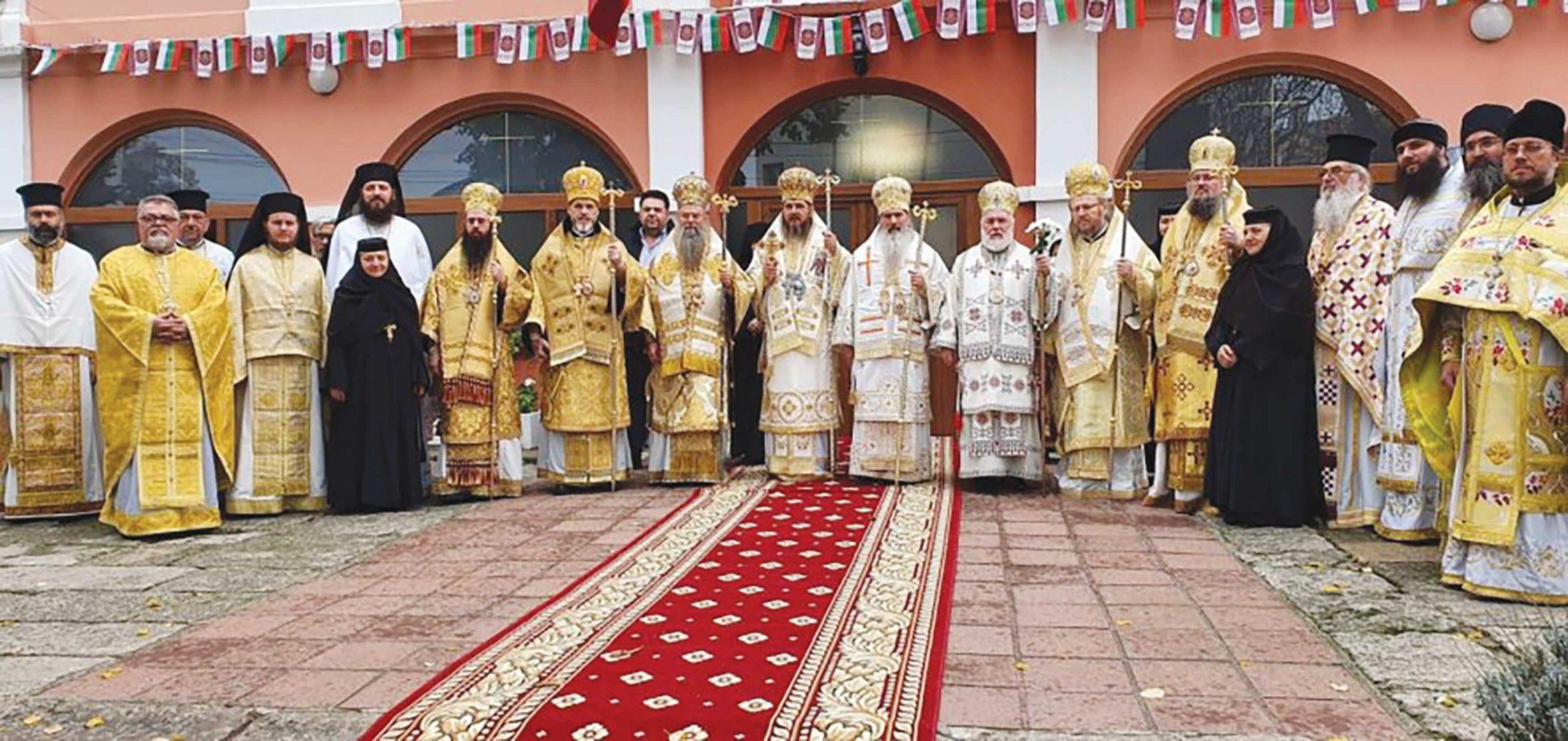 Ierarhi dobrogeni la întronizarea noului Mitropolit de Durostor