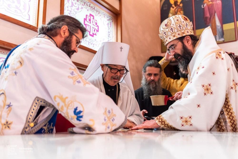 Biserica românească din Tokyo a primit veşmântul sfinţeniei