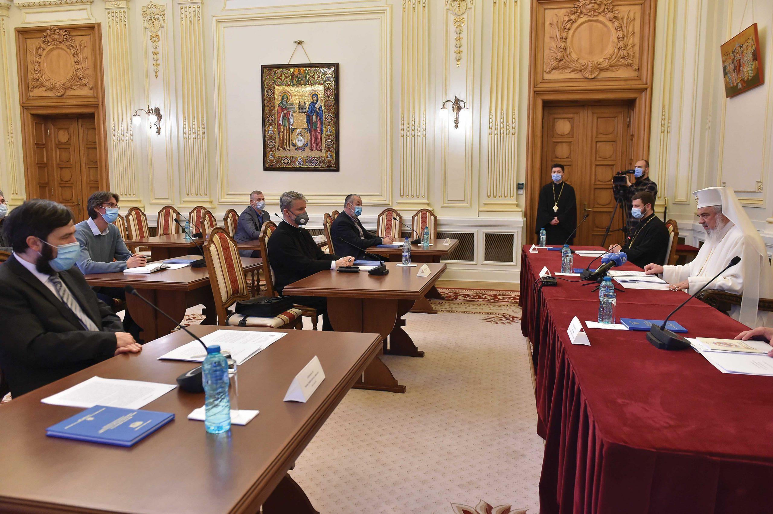 Ședință de constituire  a Comisiei de Pictură Bisericească