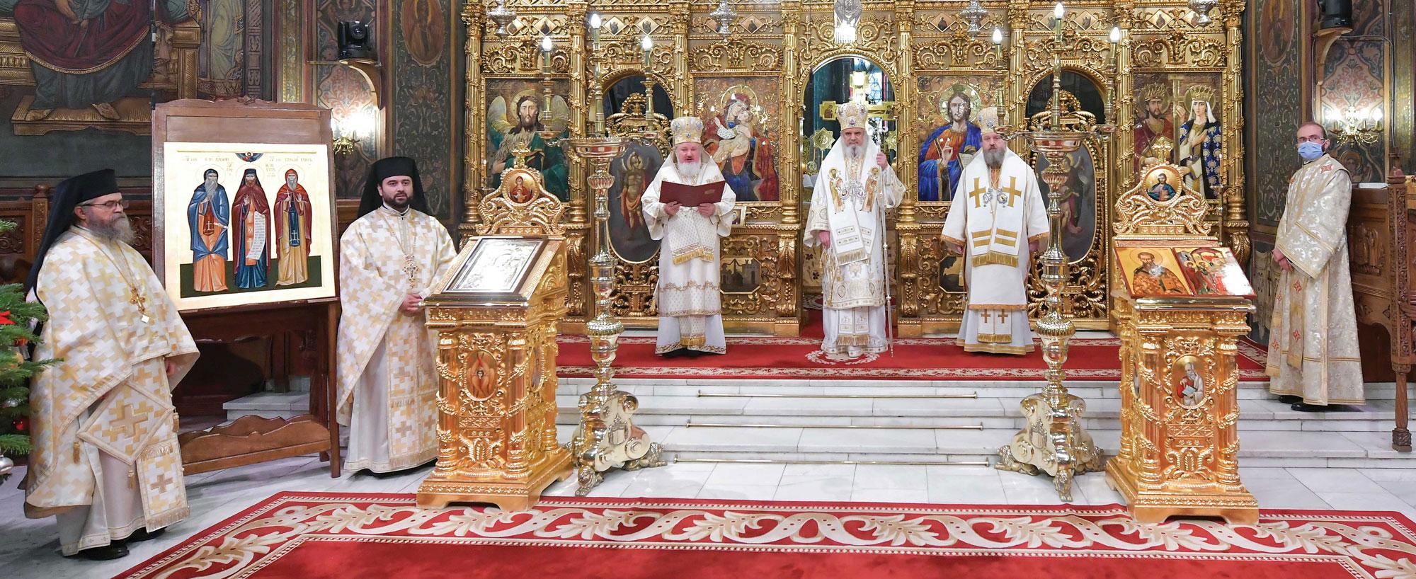 Proclamarea Anului omagial şi comemorativ 2021 la Catedrala Patriarhală
